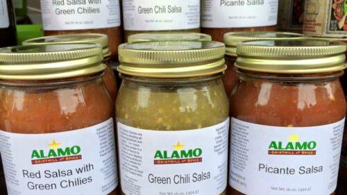 Alamo Gristmill and Spice Salsas