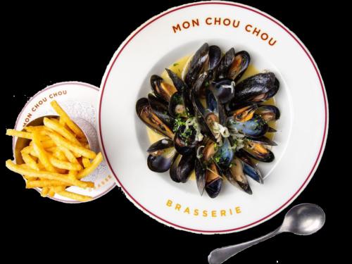 Brasserie Mon Chou Chou Mussels Moulet