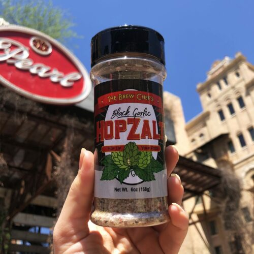 Texas Black Gold Garlic: Hopzalt