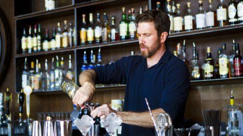 Blue Box Bar Bartender