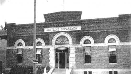 Bottling Department Historical Photo