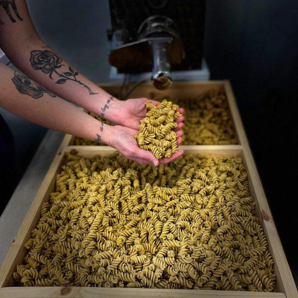 Flavored Pasta: Fusilli