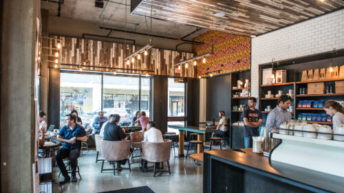 Local Coffee Founders Interior