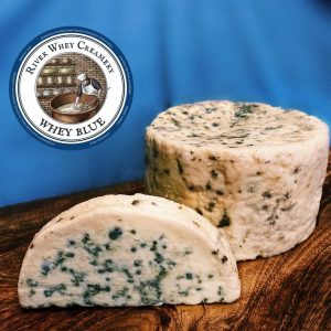 River Whey Creamery: Whey Blue Cheese