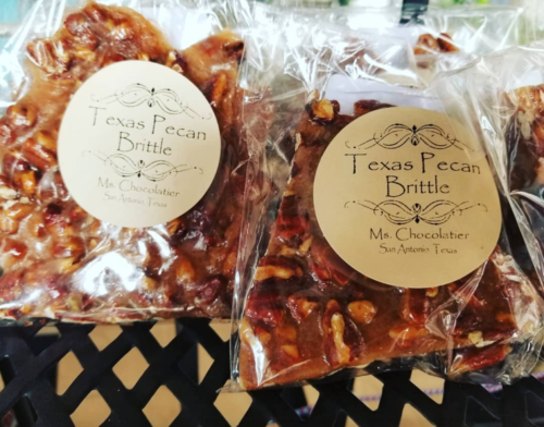 Ms. Chocolatier - Pecan Brittle