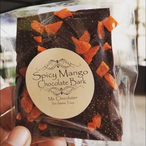 Ms. Chocolatier - Mango Bark