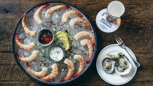 Southerleigh Shrimp Oysters
