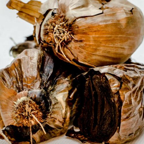Texas Black Gold Garlic - Black Shallot