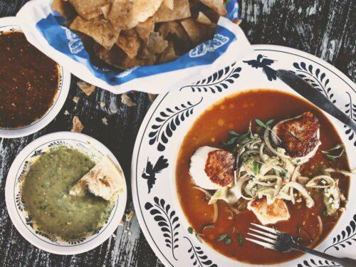 La Gloria-Food-Overhead