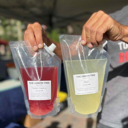 The Lemon Tree: Classic & pomegranate lemonade Liter
