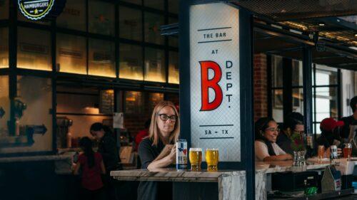 Bar at Bottling Department