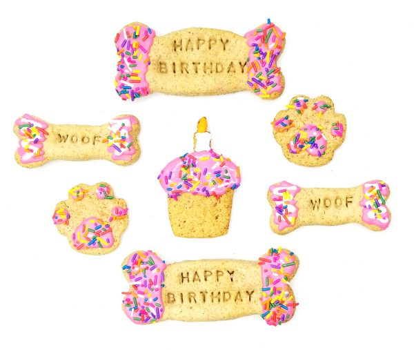Birthday Dog Cookies