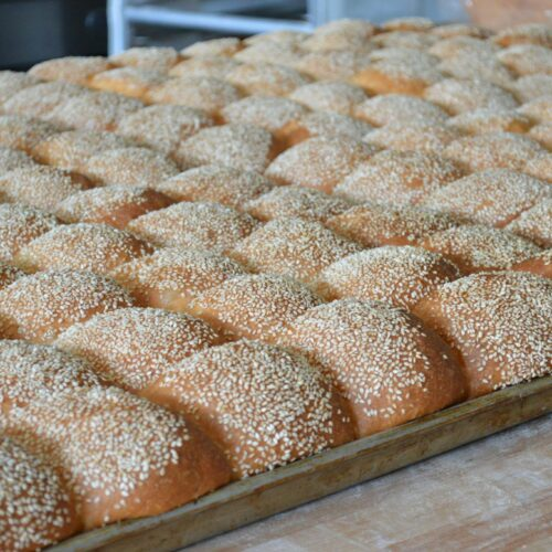 The Bread Box - Sesame Seed Buns