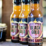 Texas Black Gold Garlic - Wing Sauce