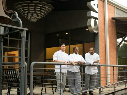 Culinary Institute of America students