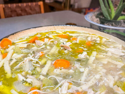 chicken soup : samantha
