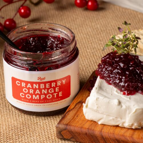 Pearl Farmers Market - Compote with Cream Cheese