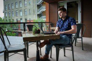 Cowork: Outside Laptop